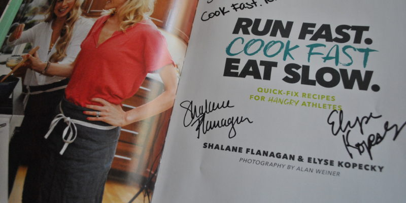 Run Fast Cook Fast Eat Slow Book Signing
