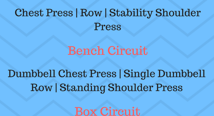 Upper Body Giant Set Workout